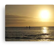 Pacific Paddle Canvas Print