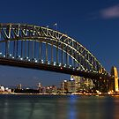 The harbour Bridge and Opera House by Andi Surjanto