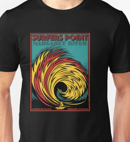 EPIC SURF DESIGNS SURFERS POINT MARGARET RIVER Unisex T-Shirt