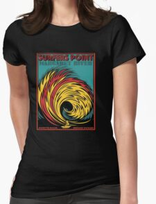 EPIC SURF DESIGNS SURFERS POINT MARGARET RIVER Womens Fitted T-Shirt