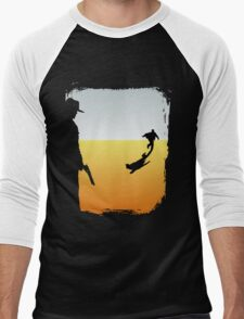 ...And the Gunslinger followed Men's Baseball ¾ T-Shirt