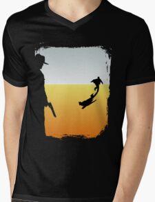 ...And the Gunslinger followed Mens V-Neck T-Shirt