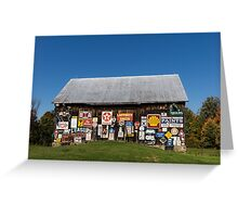 Roadside Gems - the Pleasure Barn Greeting Card
