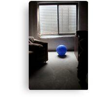 blue ball... Canvas Print