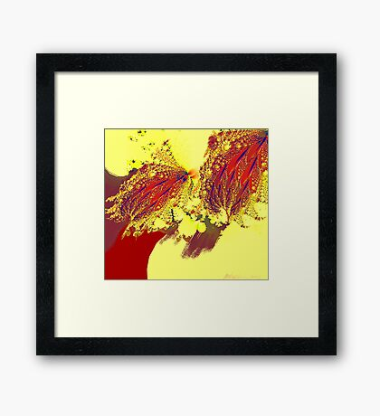 """Triumph Over Gravity"" Framed Print"