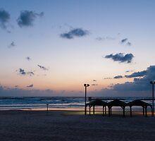Sea shore Tel Aviv by Rob Schoon