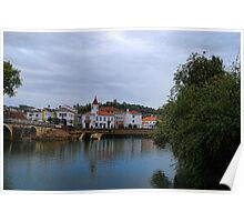 Nabão River in a cloudy day Poster