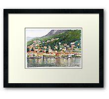 Torno on Lake Como, Italy Framed Print