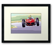 Ferrari 156 Dino 1962 Dutch GP  Framed Print