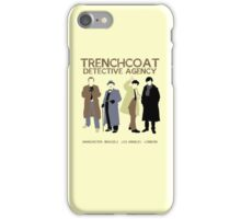 Trenchcoat Detective Agency iPhone Case/Skin