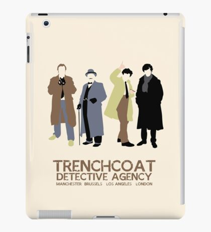 Trenchcoat Detective Agency iPad Case/Skin