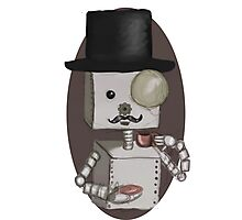 Gentleman bot Photographic Print