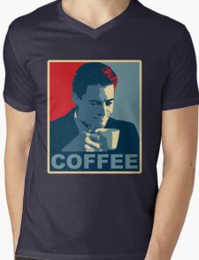 Damn Fine Coffee! Mens V-Neck T-Shirt