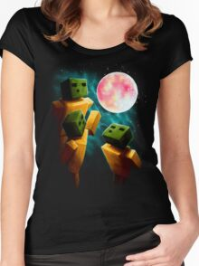3 Sp00ns and a Moon Women's Fitted Scoop T-Shirt