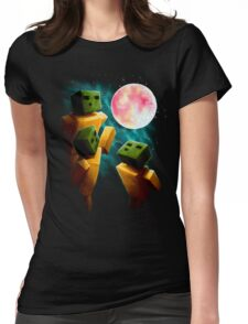 3 Sp00ns and a Moon Womens Fitted T-Shirt