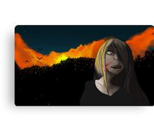 Red Sunsest Canvas Print