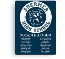 Shermer High School Alumni Canvas Print