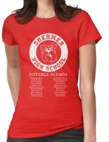 Shermer High School Alumni Womens Fitted T-Shirt