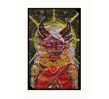 Tarot Card Art Print
