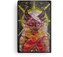 Tarot Card Metal Print