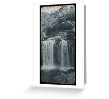 Vintage Dangar Falls, Dorrigo II Greeting Card
