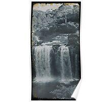 Vintage Dangar Falls, Dorrigo II Poster