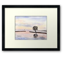 Lake Vaettern in Sweden Framed Print