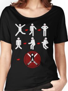 It's Just A Jump To The Left... Women's Relaxed Fit T-Shirt