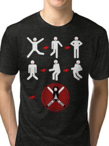 It's Just A Jump To The Left... Tri-blend T-Shirt