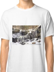 Icicles Decorate The R. B. Ricketts Waterfall Classic T-Shirt