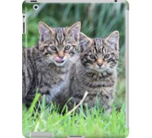 Wildcat Kittens iPad Case/Skin