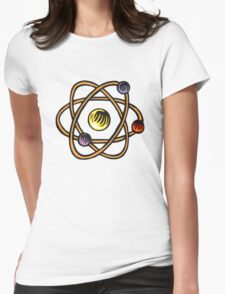Atom. Womens Fitted T-Shirt