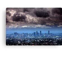 Storm over Brisbane Canvas Print