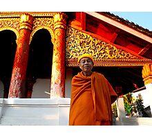 Buddhist Temples - Loas Photographic Print