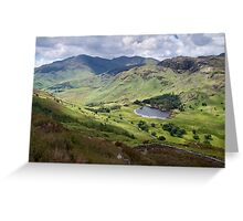 Little Langdale from Side Pike Greeting Card
