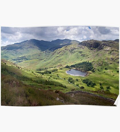 Little Langdale from Side Pike Poster