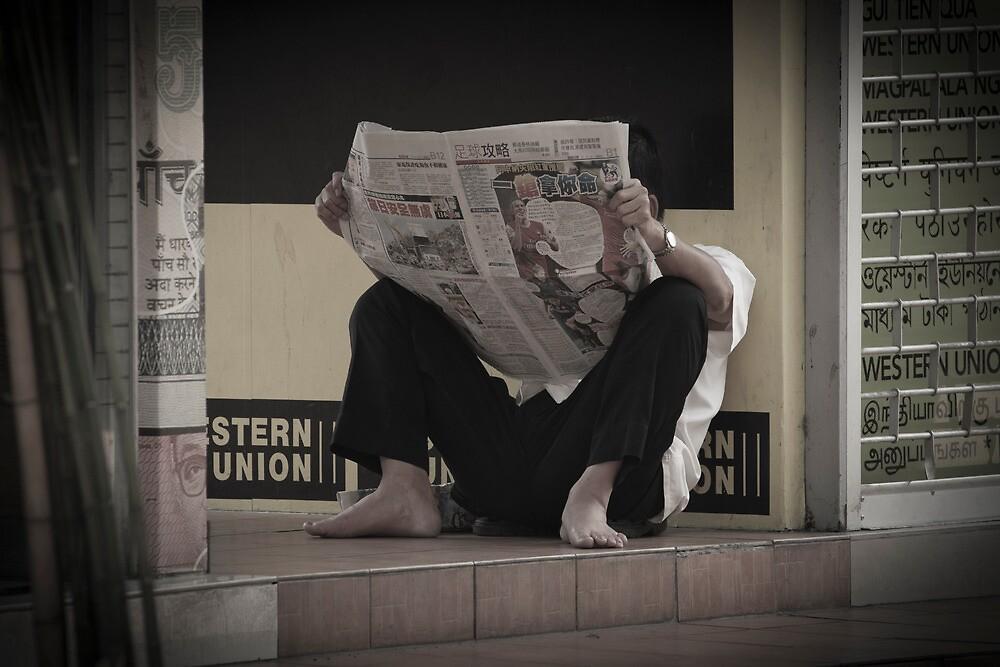 Daily News - Kuala Lumpur by Colin  Ewington