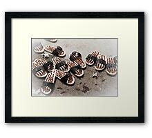 Sandals - Melaka Framed Print