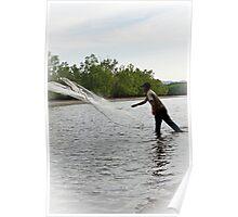 Net Fishing - Langkawi Poster