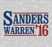 Sanders / Warren 2016 by shirtual