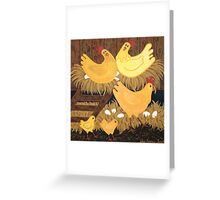 'Chookie House' - A little bit of Country... Greeting Card