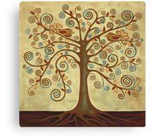 'Tree of Life' Acrylic Painting Canvas Print