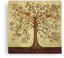 'Tree of Life' Acrylic Painting Canvas Print