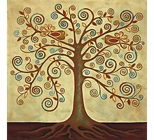 'Tree of Life' Acrylic Painting Photographic Print