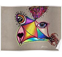 """""""Picasso Dog"""" Creature Poster"""
