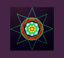 Hand-painted mandala/compass design Unisex T-Shirt