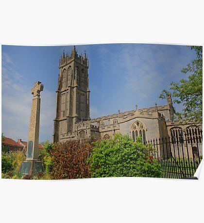 St John's Church, Glastonbury Poster