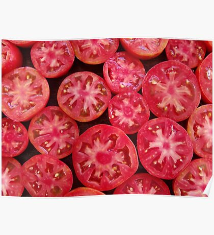 Tomato Flowers Poster