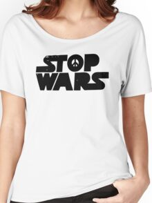 Stop Wars Now! Women's Relaxed Fit T-Shirt