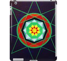 Hand-painted mandala/compass design iPad Case/Skin